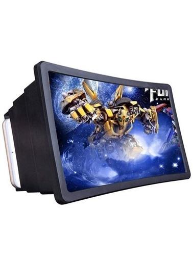 Techmaster Telefon Ekran Büyütme Mercek Büyüteç Standlı F2 Renkli